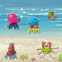 컬러룬 색칠 바다생물만들기 12개입
