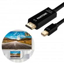 팬톤 MINI DP TO HDMI 케이블 4K 3.0M