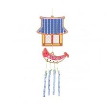 유니아트 풍경만들기 전통기와집